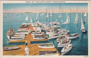 Massachusetts Quincy Wollaston Sailboats On Quincy Bay