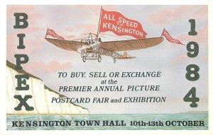 Bipex british international postcards fair exhibition 1984 Kensington