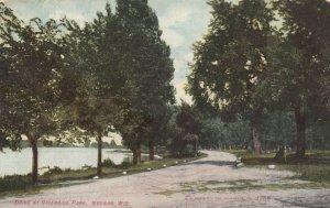NEENAH, Wisconsin, 1908; Drive at Riverside Park