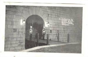 Sentry Duty , Fort Henry, Ontario, Canada 1930-40s