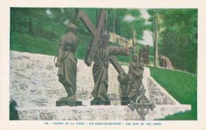 Chemin de la Croix The Way of the Cross - Ste-Anne-de-Beaupre Quebec Canada - WB