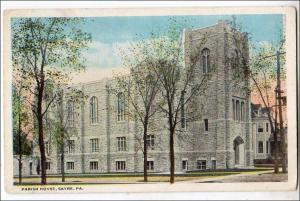Parish House, Sayre PA
