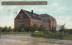 OKLAHOMA CITY, 1915 ; St Anthony Hospital
