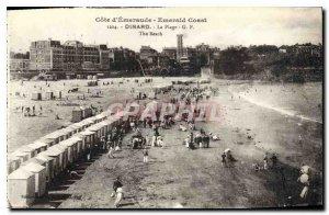 Postcard Old Emerald Coast Emerald Coast Dinard The Beach