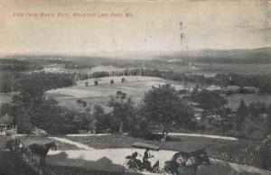 MOUNTAIN LAKE PARK , Maryland , 1907 ; View from Monte Vista