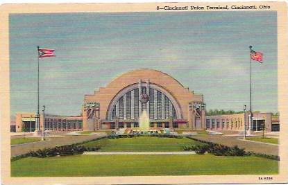 Cincinnati Union Terminal in Ohio