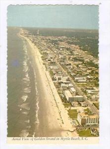 Myrtle Beach , South Carolina, 50-60s   Aerial view, Grand Strand