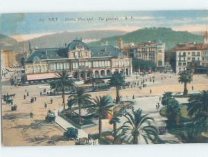 Old Postcard CASINO MUNICIPAL Nice France F5521