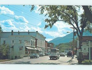 Pre-1980 STREET SCENE Manchester Center Vermont VT W1283