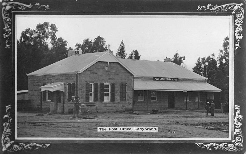 BR99568 the post office ladybrand real photo south africa