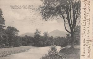 Roundtop and Noon Mark Mountains - Adirondacks, New York - pm 1907 - UDB