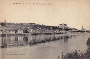 SAUMUR, Le Coteau et le Chateau, Maine et Loire, France, 00-10s