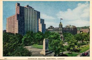 Canada - Quebec, Montreal. Dominion Square