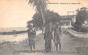 Gabon Libreville, Pahouins et Pahouines, Natives