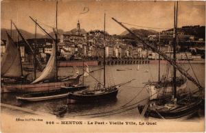 CPA Menton Le Port - Vieille Ville, Le Quai (617031)