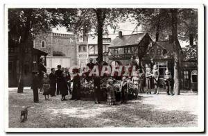 Postcard Old Dwarf Dwarves Paris International Exhibition in 1937 Esplanade d...