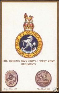 UK Military Badges, The Queen's Own Royal West Kent Reg