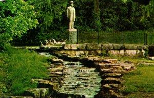Tennessee Lynchburg Jack Daniel Distillery Jack Daniel's Statue and Spring