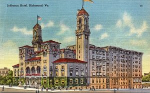 Virginia Richmond Jefferson Hotel