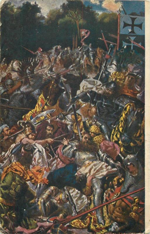 *  Battle of Grunwald by H. Sienkiewicz Polish – Lithuanian – Teutonic War.