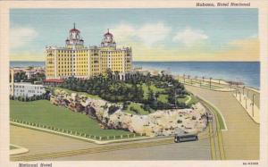 Cuba Havana National Hotel Curteich