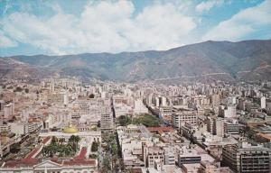 Panorama of Caracas, Capitolio from Centro Simon Bolivar, Venezuela, South Am...