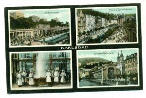4-view postcard, Karlsbad, czech Republic, 00-10s