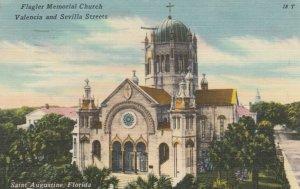 ST AUGUSTINE, Florida, 30-40s; Flagler Memorial Church, Valencia & Sevilla Sts.