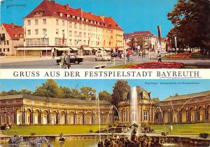 Bayreuth, Lebanon Postcard, Carte Postale Gruss Aus Der Festspielstadt Bayreu...