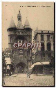 Old Postcard Bourdeaux La Grosse Cloche