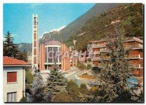 Postcard Modern Church Campione S Zenone