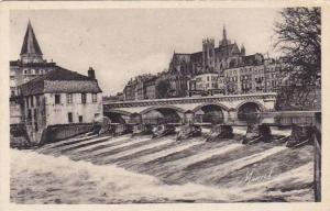 France Metz Barrage de la Pucelle et Moyen Pont