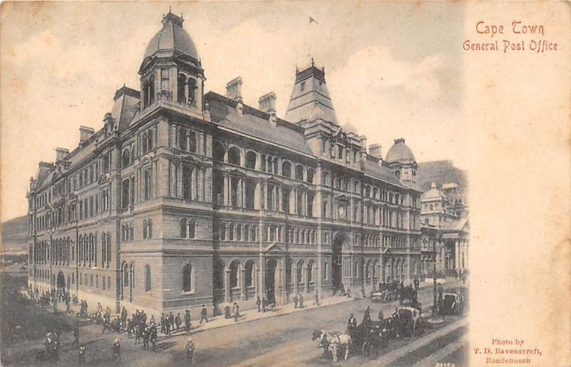 South Africa Cape Town General Post Office Building, Carriages