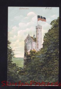 LICHTENSTEIN GERMANY 1901 ANTIQUE VINTAGE OLD POSTCARD