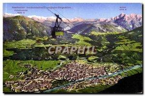 Austria Innsbruck Osterreich Austria Postcard Old Seegrusse Bergstation