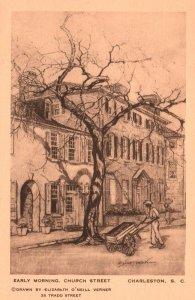 Early Morning,Church Street,Charleston,SC BIN