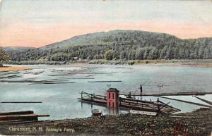 Claremont New Hampshire Ashley's Ferry Scenic View Vintage Postcard JC932432