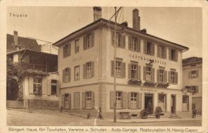 Switzerland Thusis Bürgerl Haus für Touristen 02.45
