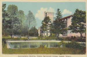GUELPH, Ontario, Canada, 1900-1910's; Administration Building, Ontario Agricu...