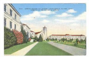 Loretto College & Academy Austin Terrace, El Paso Texas, 1930-1940s