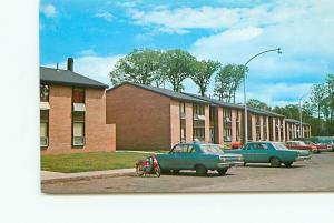 Postcard Daniell Heights Married Apts Michigan Technological Univer  # 3386A