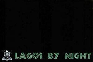 NEW Fun Africa Postcard, Lagos, Nigeria by Night, Graphic, Black & White DZ3