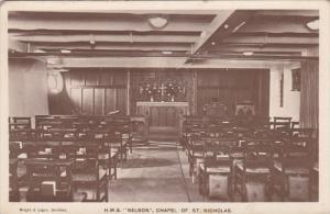RP : HMS NELSON , Chapel of St. Nicholas , 1910s