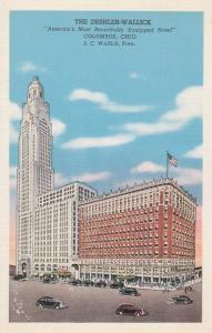 Deshler-Wallick Hotel - Columbus, Ohio - Linen