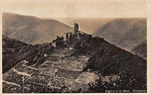 Cochem an der Mosel Winneburg Castle Panoramic view