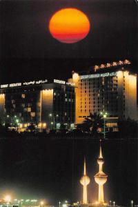 Kuwait Sheraton Hotel Tourism Towers Multiview Vintage Postcard J65371