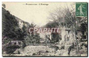 Old Postcard Roquefavour L'Ermitage