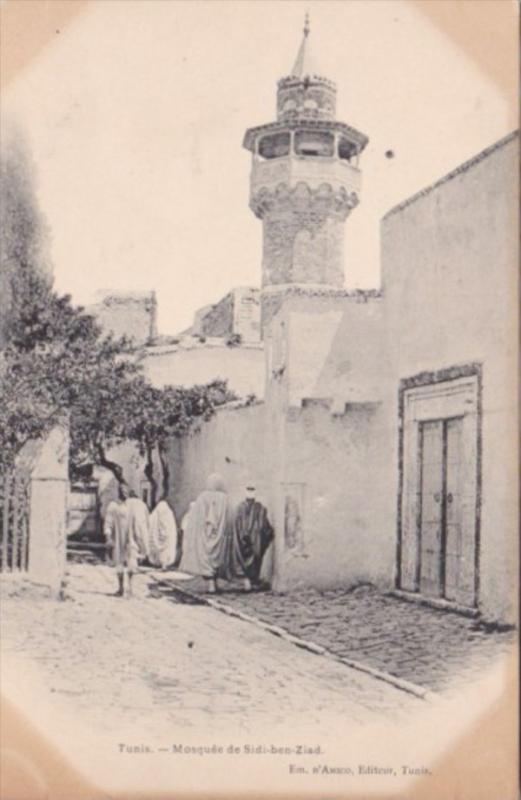 Tunisia Tunis Mosquee de Sidi-ben-Ziad