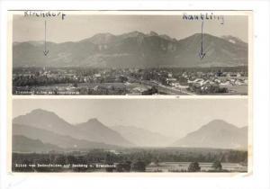 RP  Kirchdorf a. Inn mit Wendelstein & Blick von Redenfelden auf Heuberg u. K...
