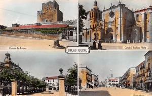 Spain Old Vintage Antique Post Card Ciudad Rodrigo Catedral Unused